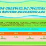 PUERTAS ABIERTAS PISCINA 14-15
