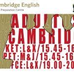 CAMBRIDGE-ADULTOS
